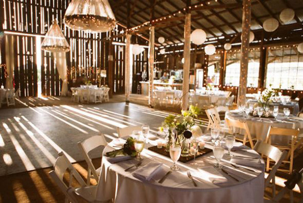 : Barn weddings are one of the most popular Minnesota wedding traditions