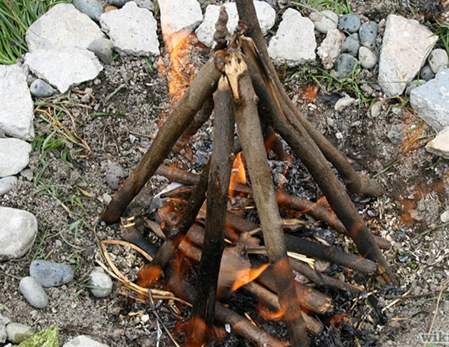 If you want to learn how to throw a bonfire party, start by learning how to start a fire.
