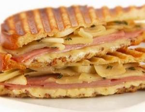 Apple panini are a creative apple recipe