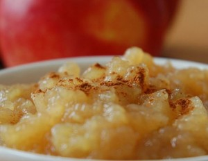 Applesauce is an old-fashioned apple recipe