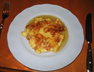 Apfelpfannkuchen is a German apple recipe