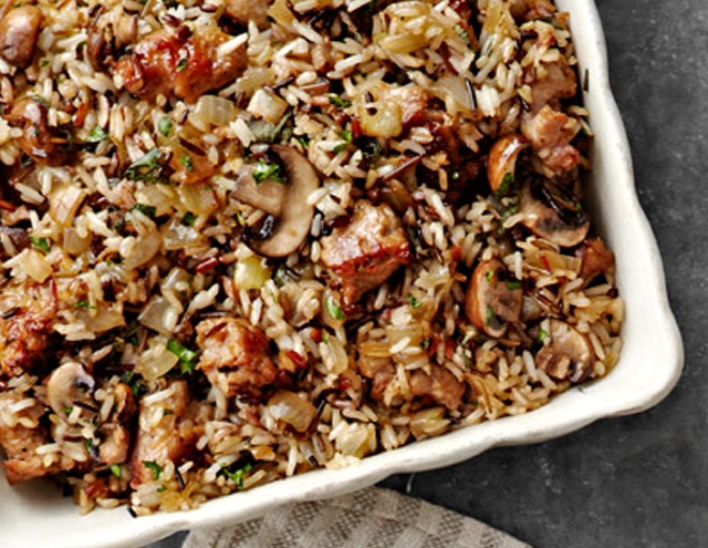 wild rice dressing thanksgiving recipes