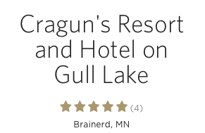 Cragun's Resort is Top Rated Wedding Venue on TheKnot.com