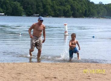Grandpa & Grandson's Biannual Race