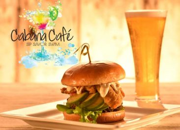 New Cabana Café Opens at Indoor Pool