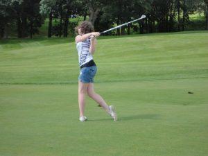 Boyfriend (Now Husband) Teaching Me To Golf