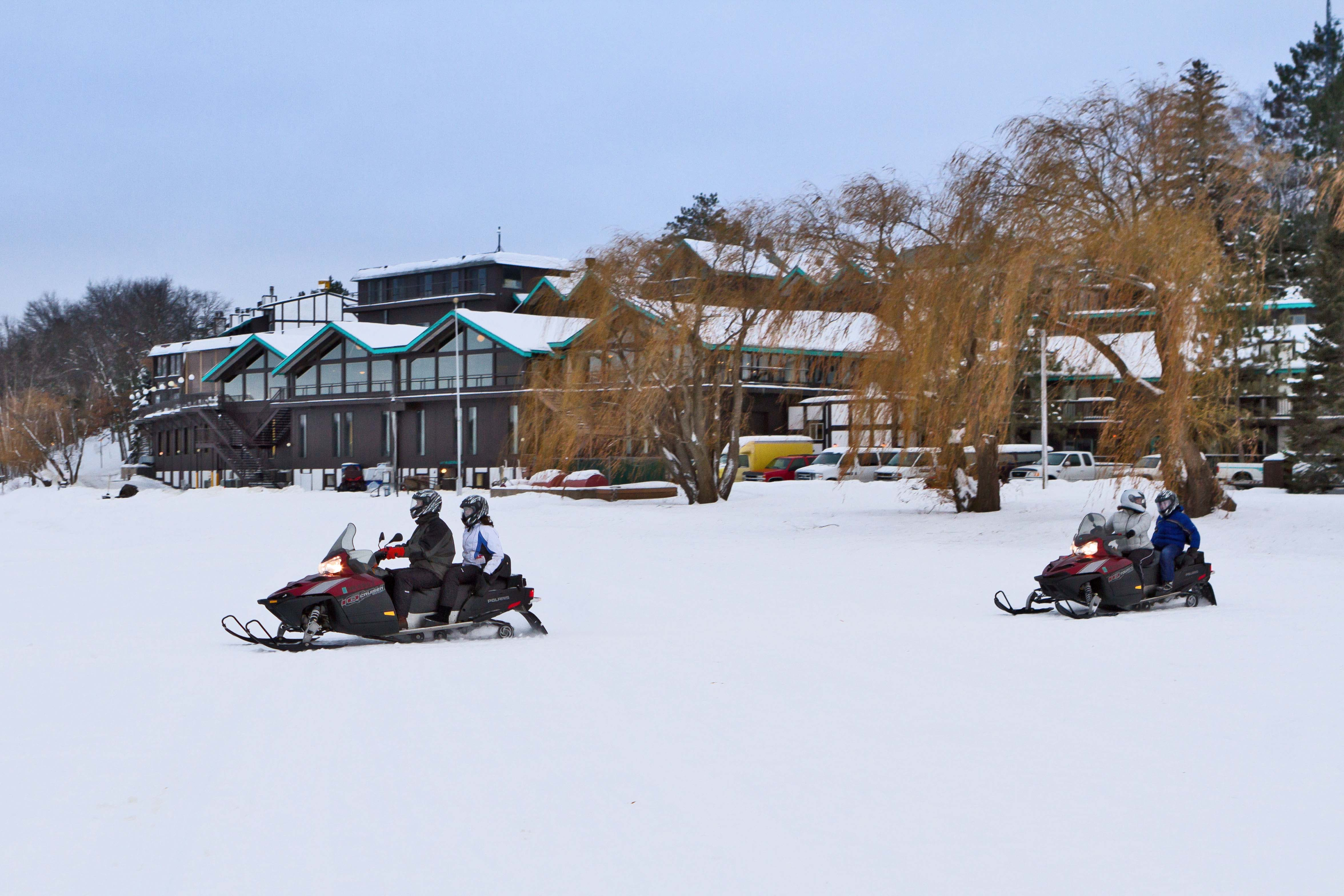 Snowmobiling in Brainerd