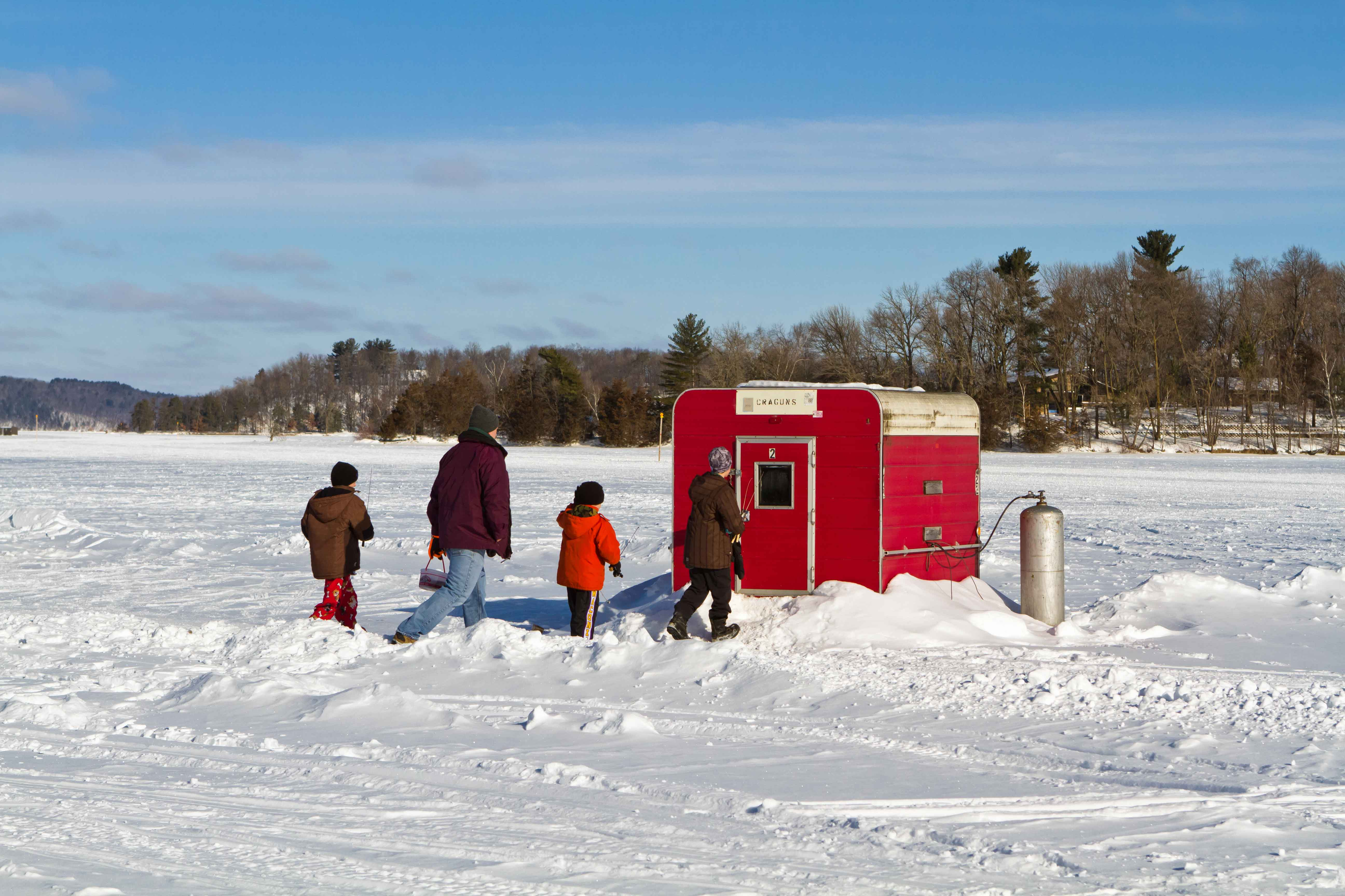 Ice Fishing in Brainerd
