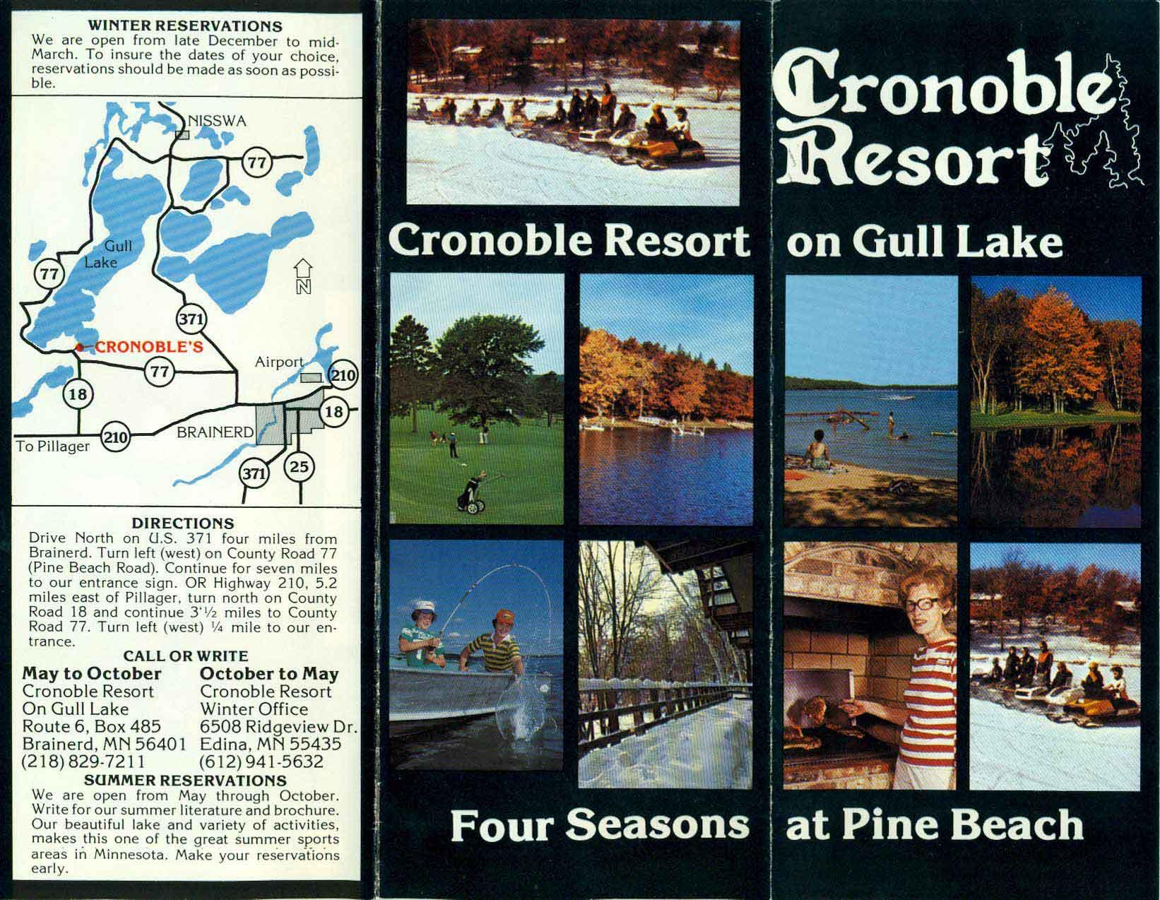 Cragun's, Formerly Cronable Resort