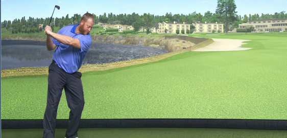 Keep Your Golf Swing This Winter with Cragun's PGA Tour Golf Simulator