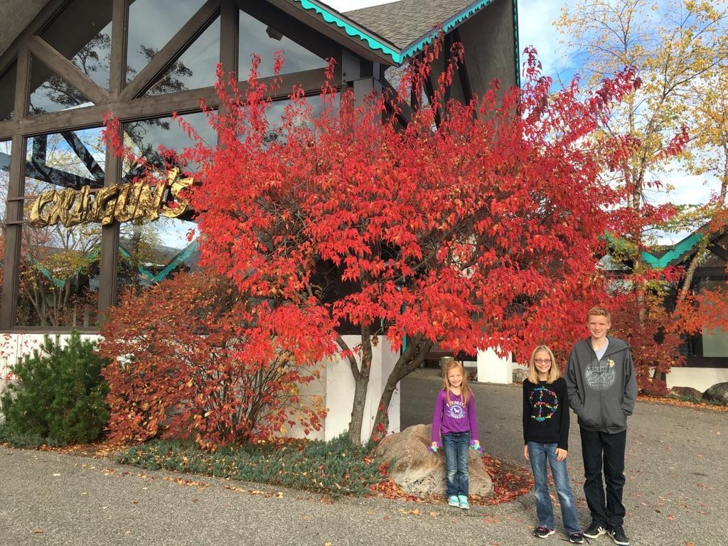 In front of Cragun's Resort in Brainerd, Minnesota