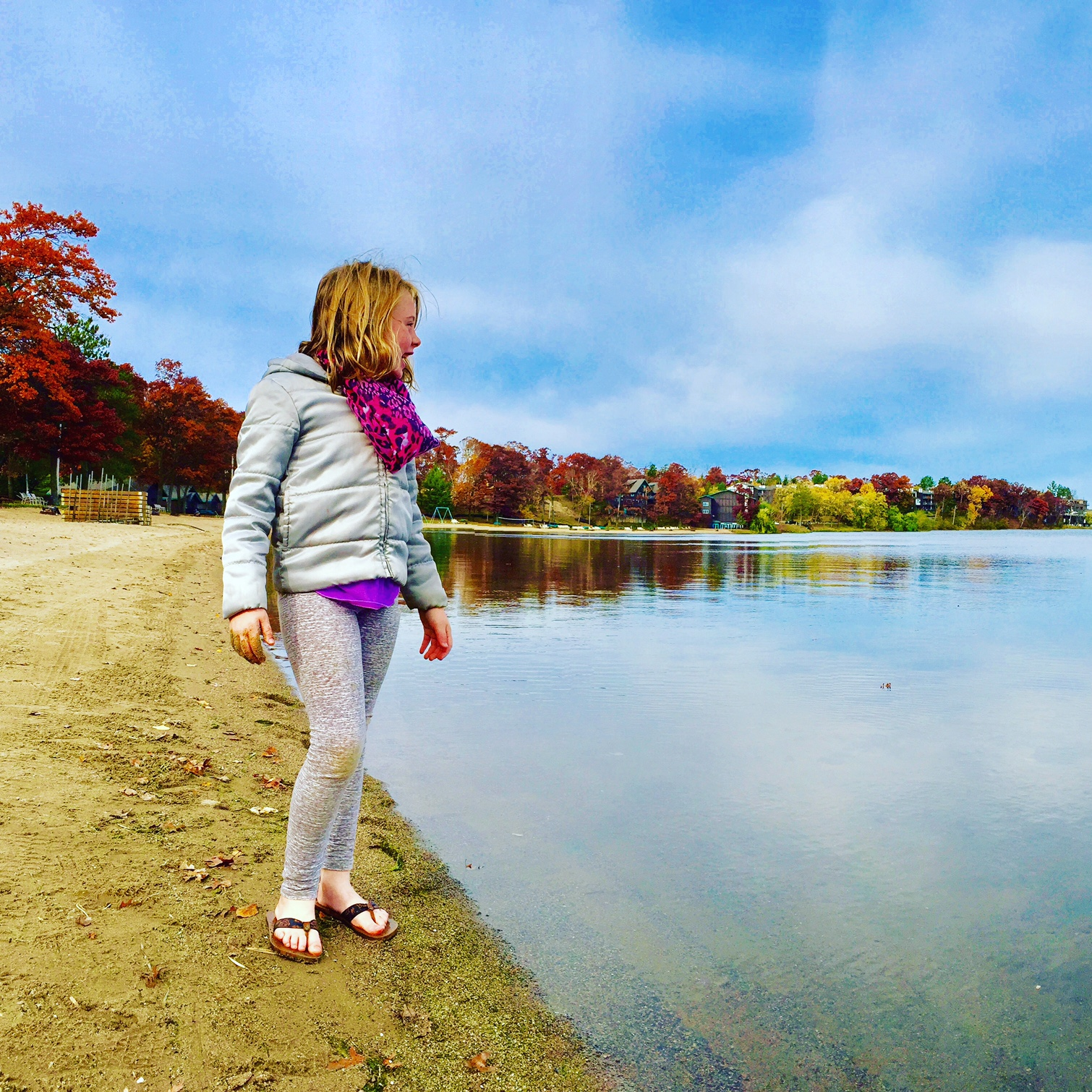 Cragun's Resort beach on Gull Lake in Brainerd, Minnesota