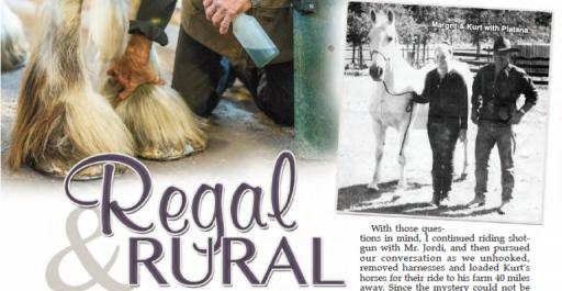 Regal Rural | The Story of Kurt & Margrit Jordi