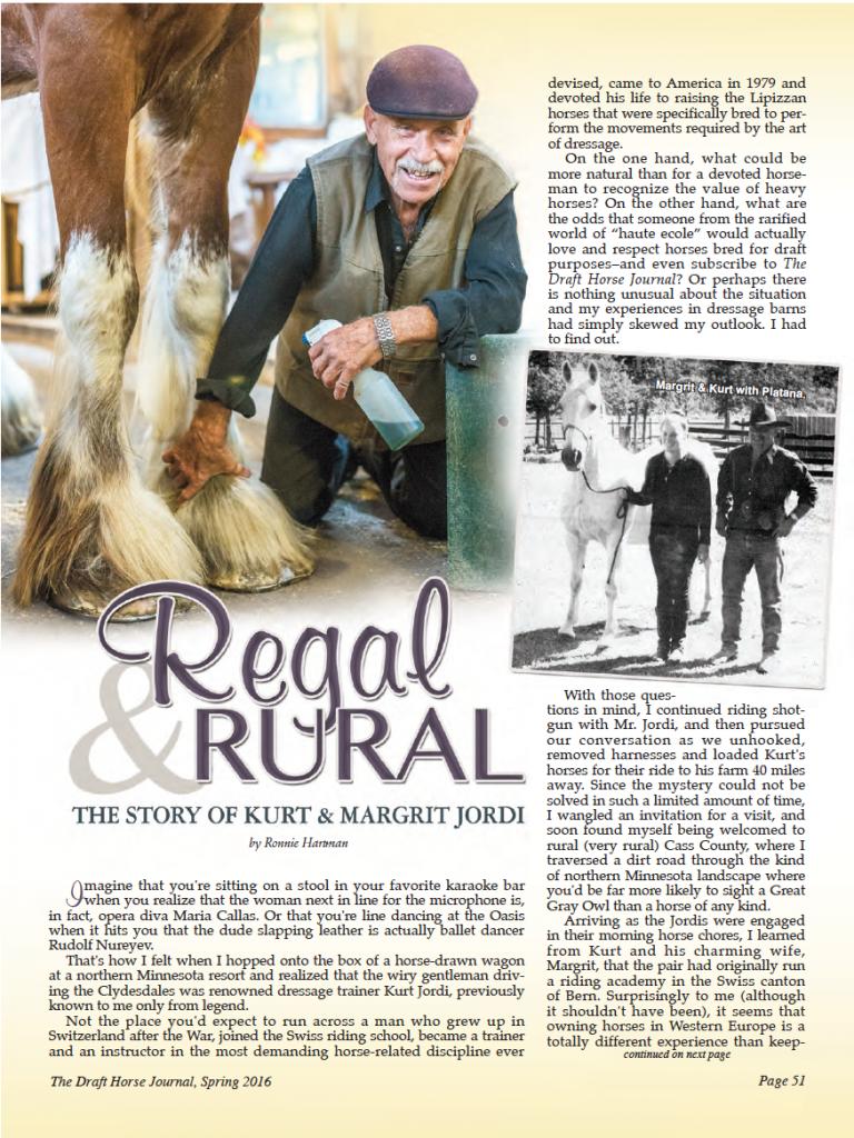 The story of Kurt & Margrit Jordi - Page 1