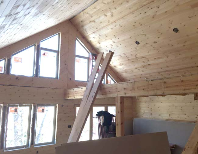 Progress being made on Cragun's Brainerd cabins known as Bayview Villas