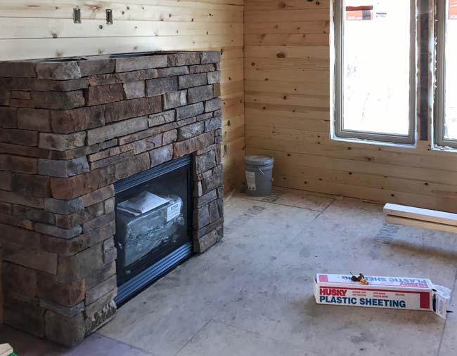 Progress being made on Cragun's Brainerd cabins known as Bayview Villas