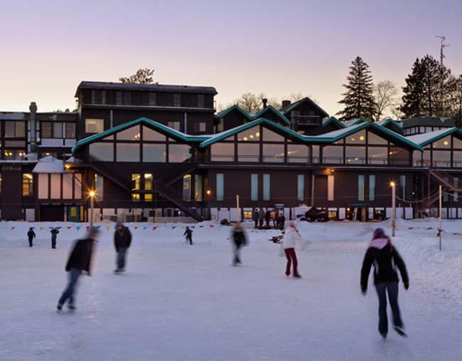 Ice Skating at Cragun's Resort