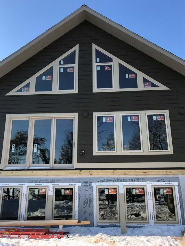 Construction is underway for Cragun's Brainerd cabins known as Bayview Villas