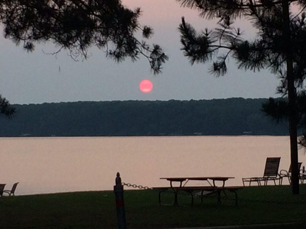 Sunrise at Cragun's Resort
