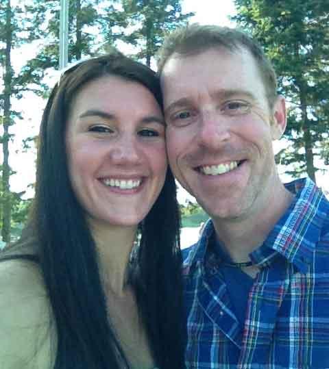 Celebrating our good friend's wedding at Cragun's Resort