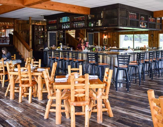 Irma's Kitchen at Cragun's Bar Area