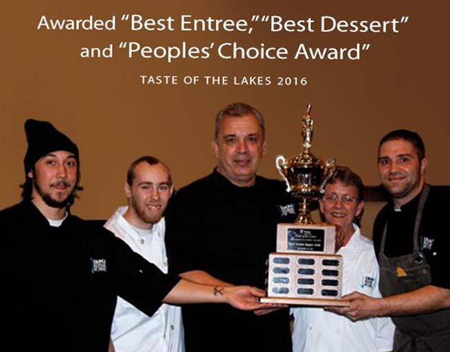 Irma's Kitchen at Cragun's - Winner of Taste of the Lakes 2016