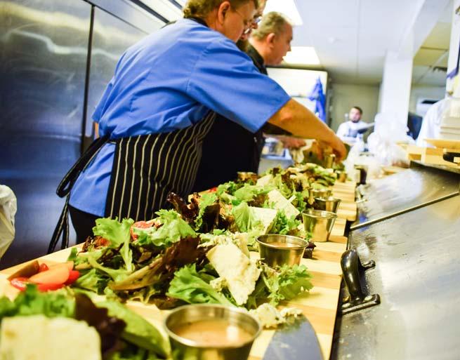Irma's Kitchen at Cragun's Salad Line