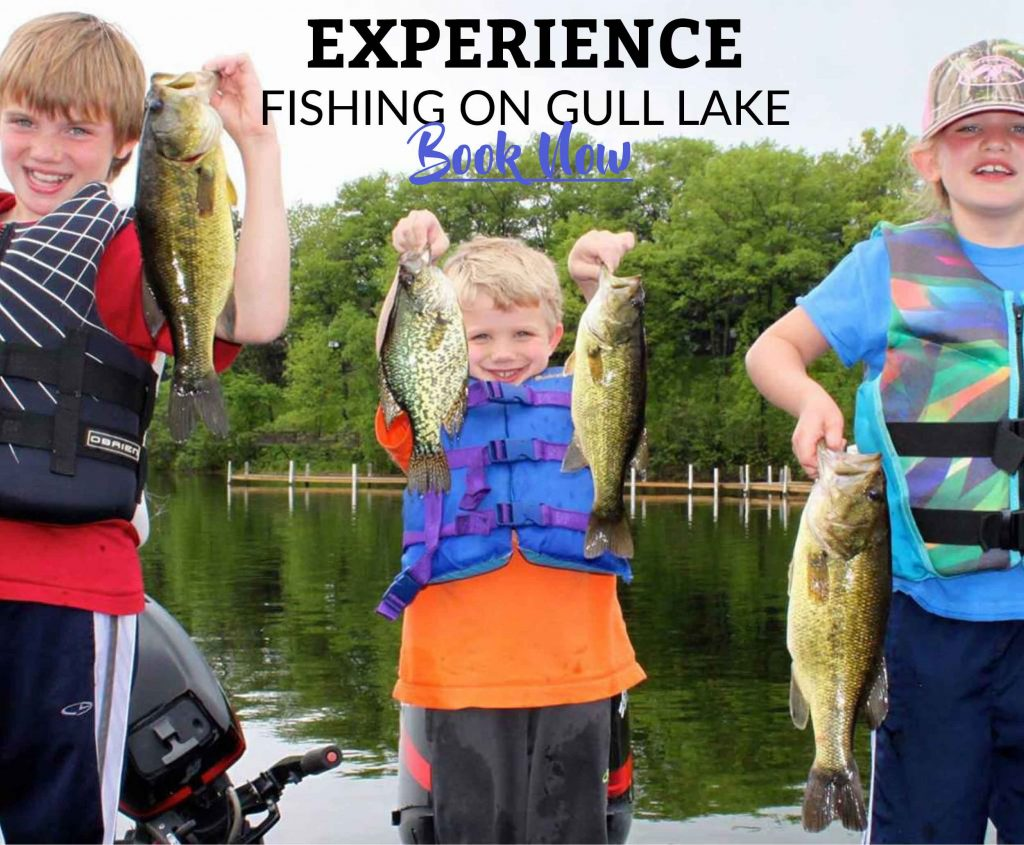 Experience fishing on Gull Lake