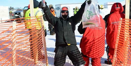 You Can't Miss Jaycees Ice Fishing Extravaganza 25th Anniversary Celebration!