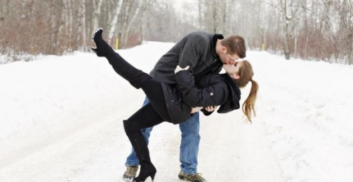 Ideas for Winter Engagement Photos