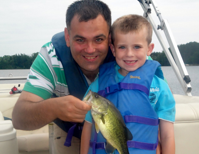 Fishing is a fun summer vacation activity