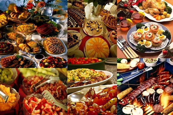 Hotdish buffets are becoming one of the most popular Minnesota wedding traditions