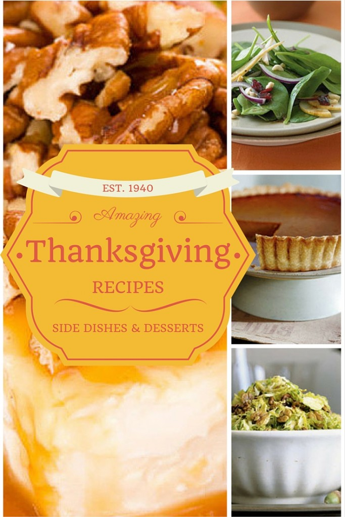 Prepare dinner and dessert using these amazing Thanksgiving recipes