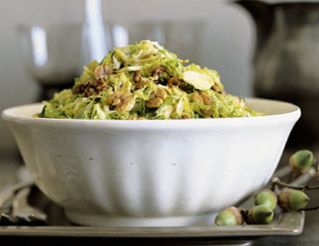 shredded brussel sprouts thanksgiving recipes