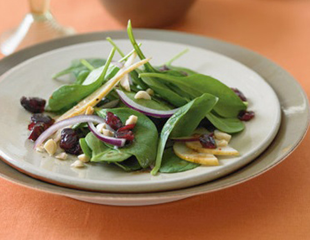 spinach salad thanksgiving recipes