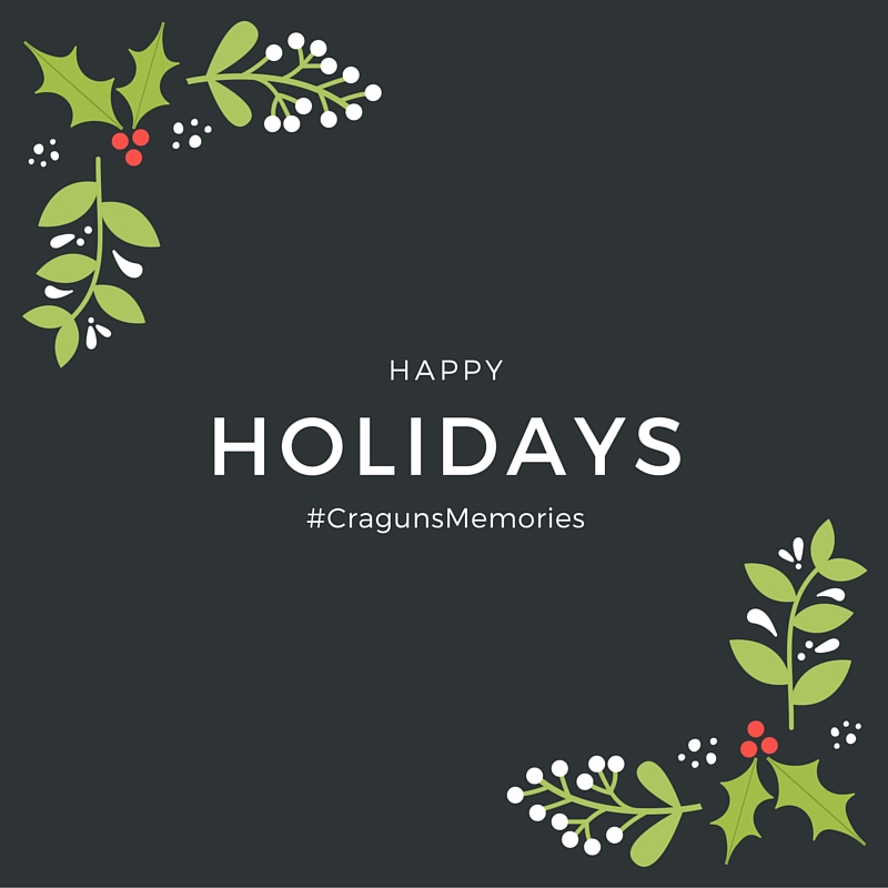 happy holidays #cragunsmemories
