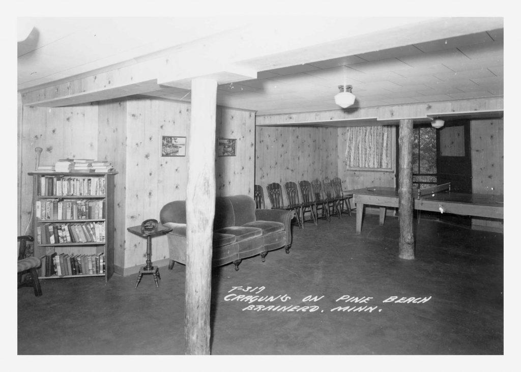 Cragun's Resort Playroom in 1941
