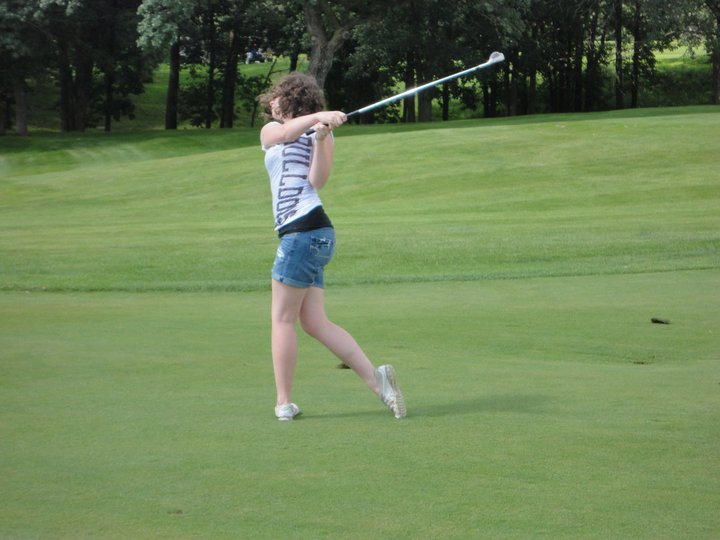 Learning to golf at Cragun's Legacy Courses