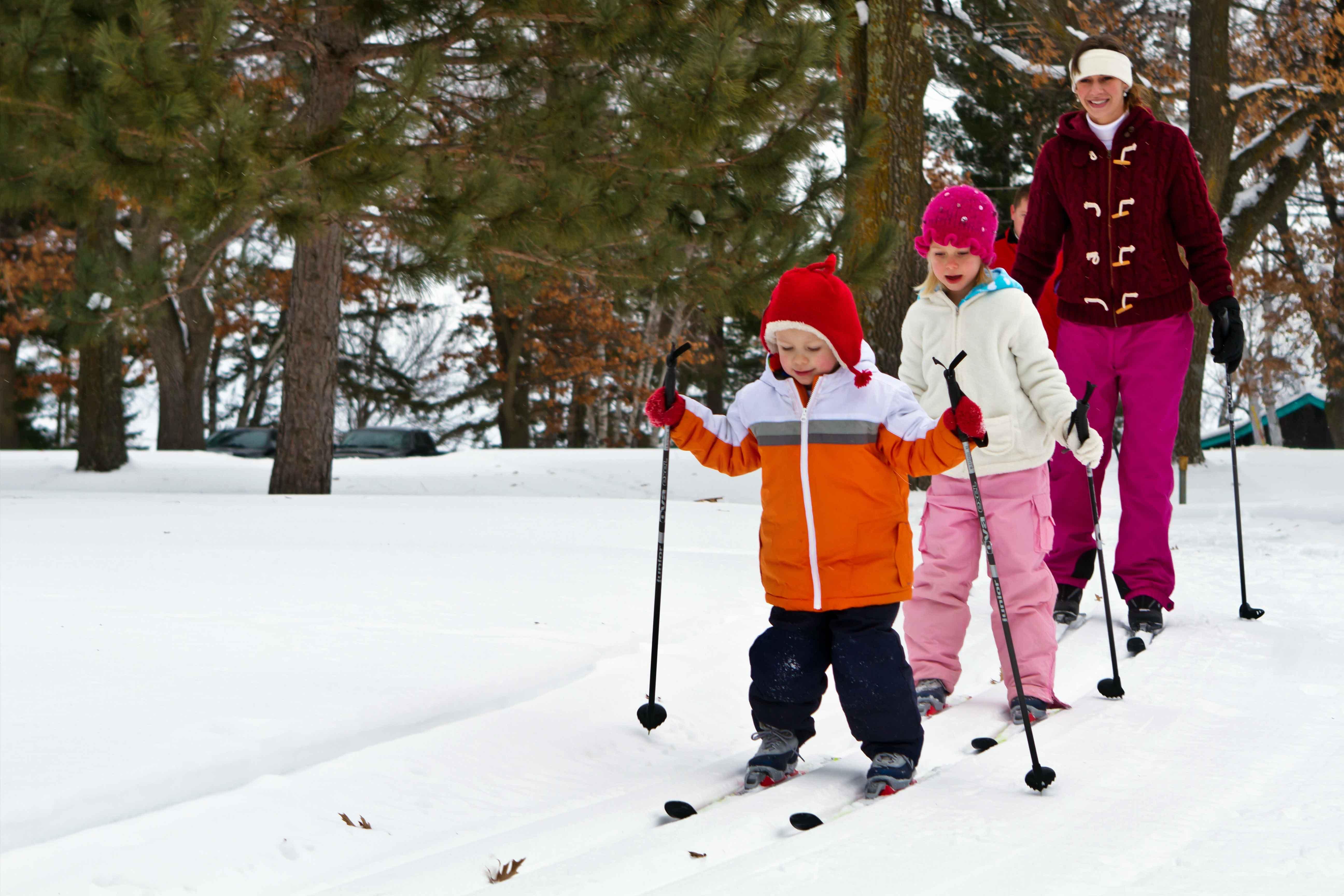 Cross-country skiing in Brainerd