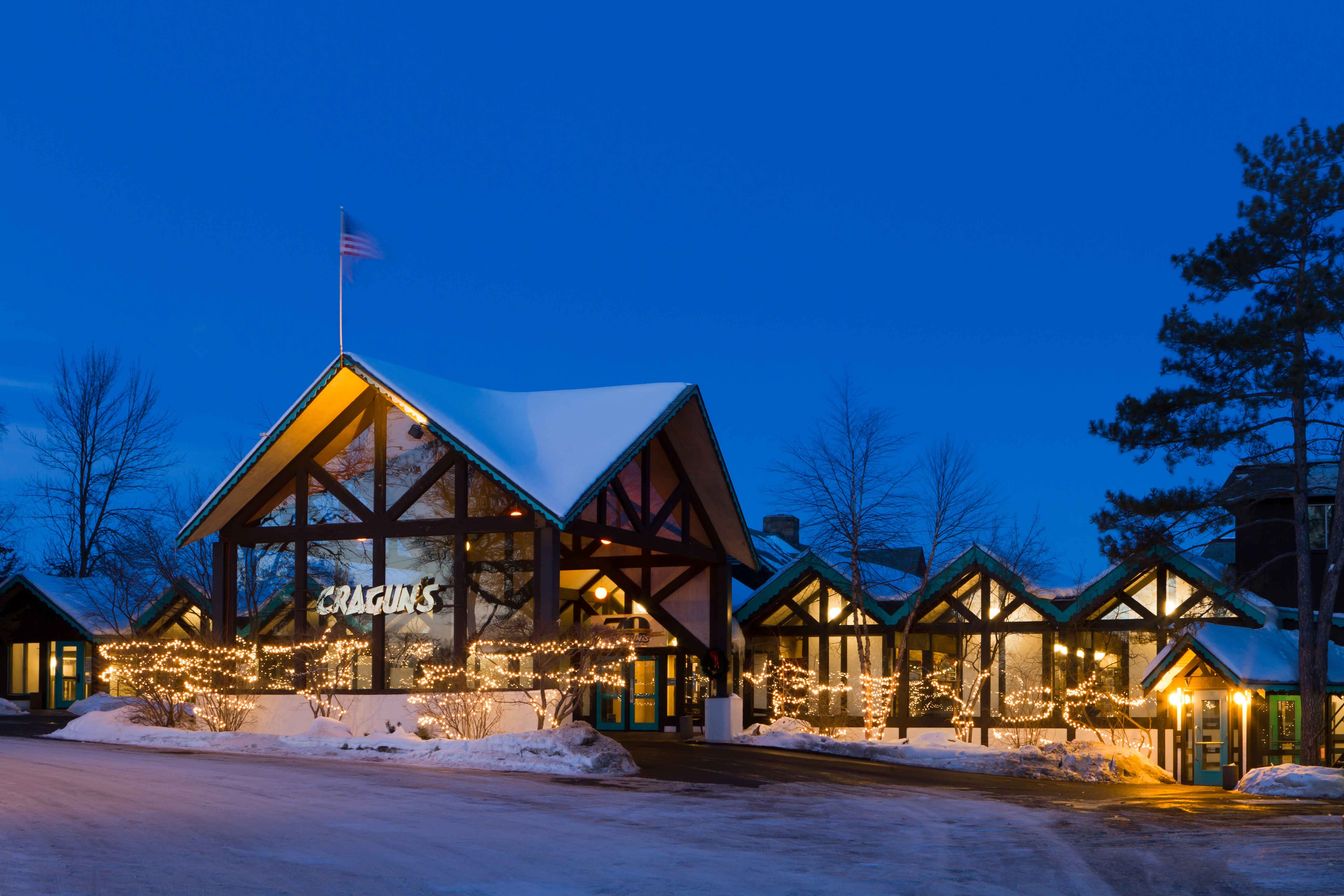 Celebrate the Holidays at Cragun's Resort