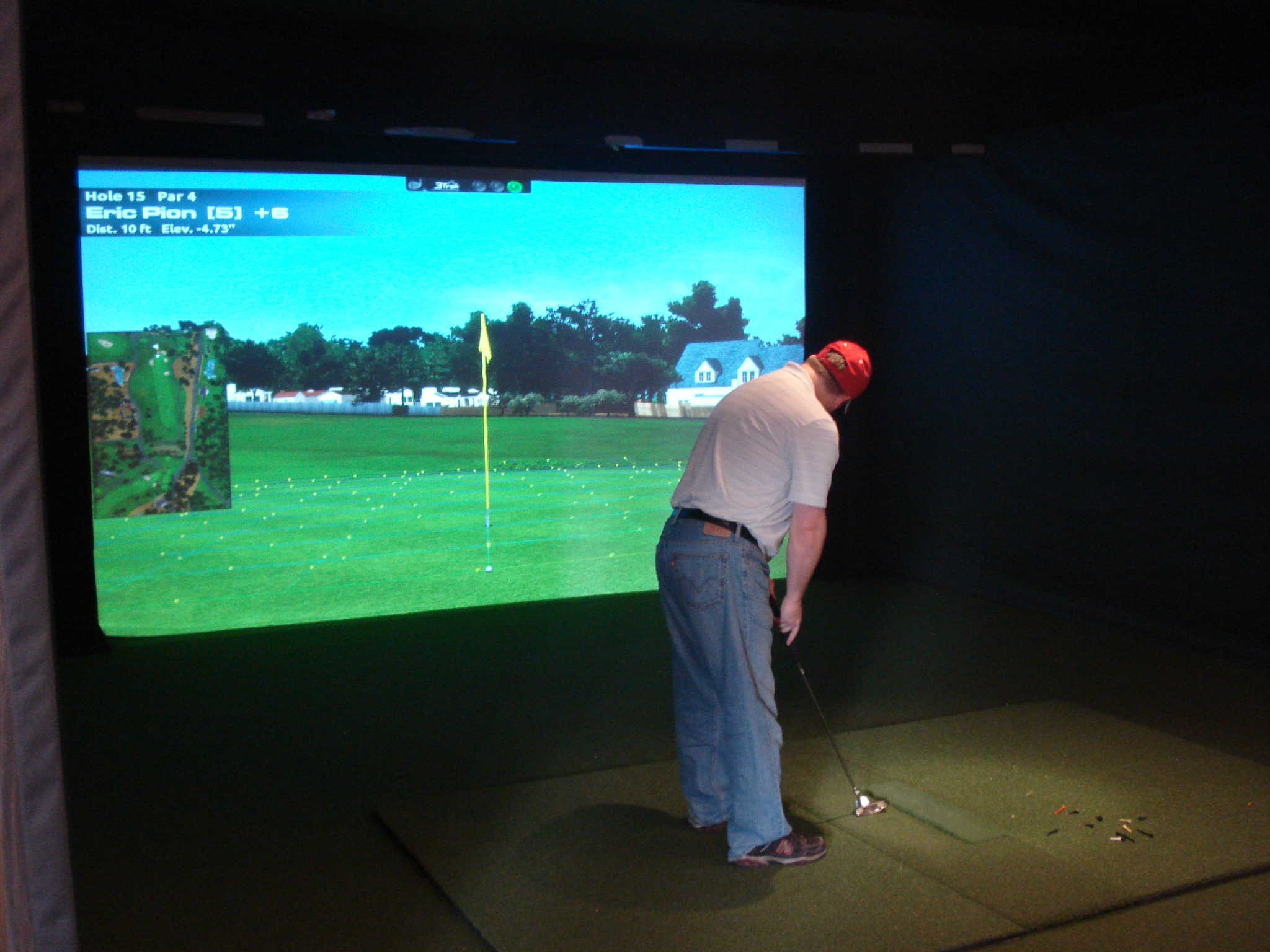 Cragun's Resort Golf Simulator in Brainerd, MN