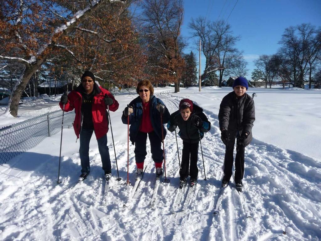 Cross-country skiing at Cragun's Resort