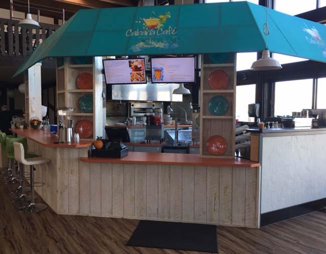 Cabana Café at Cragun's Resort