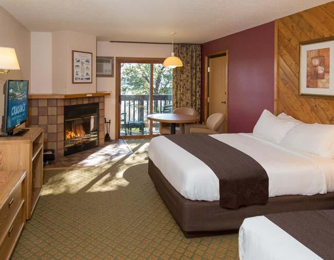 New Look of Cragun's Lodge Room