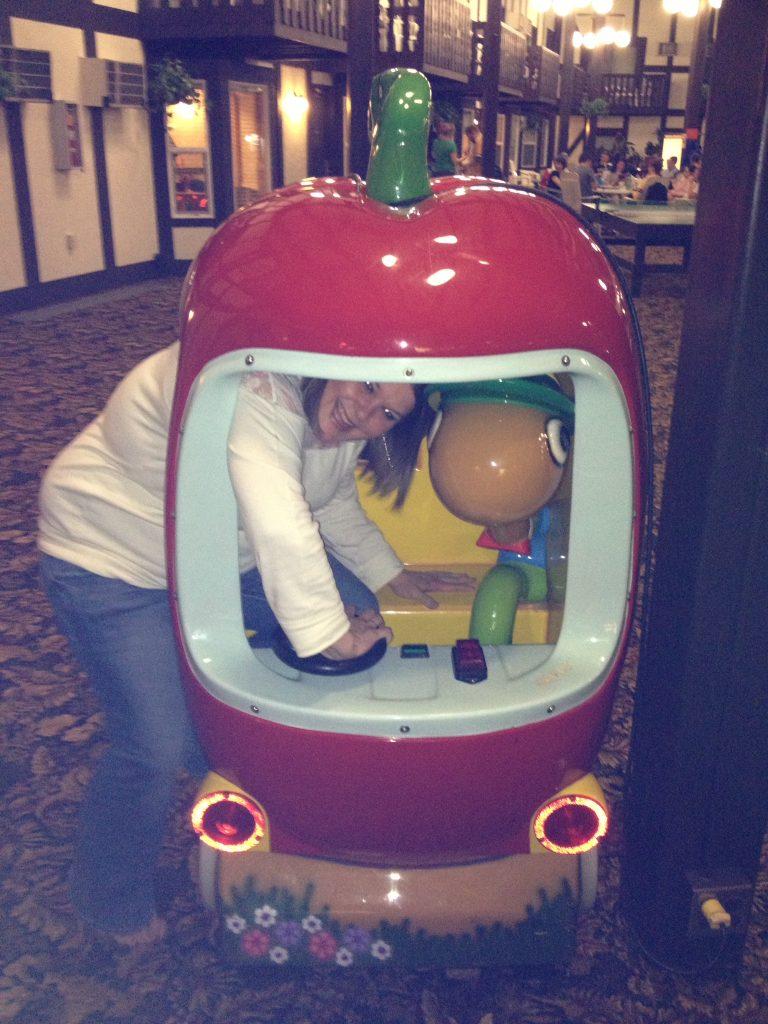 Having fun at Cragun's Resort in Brainerd, MN
