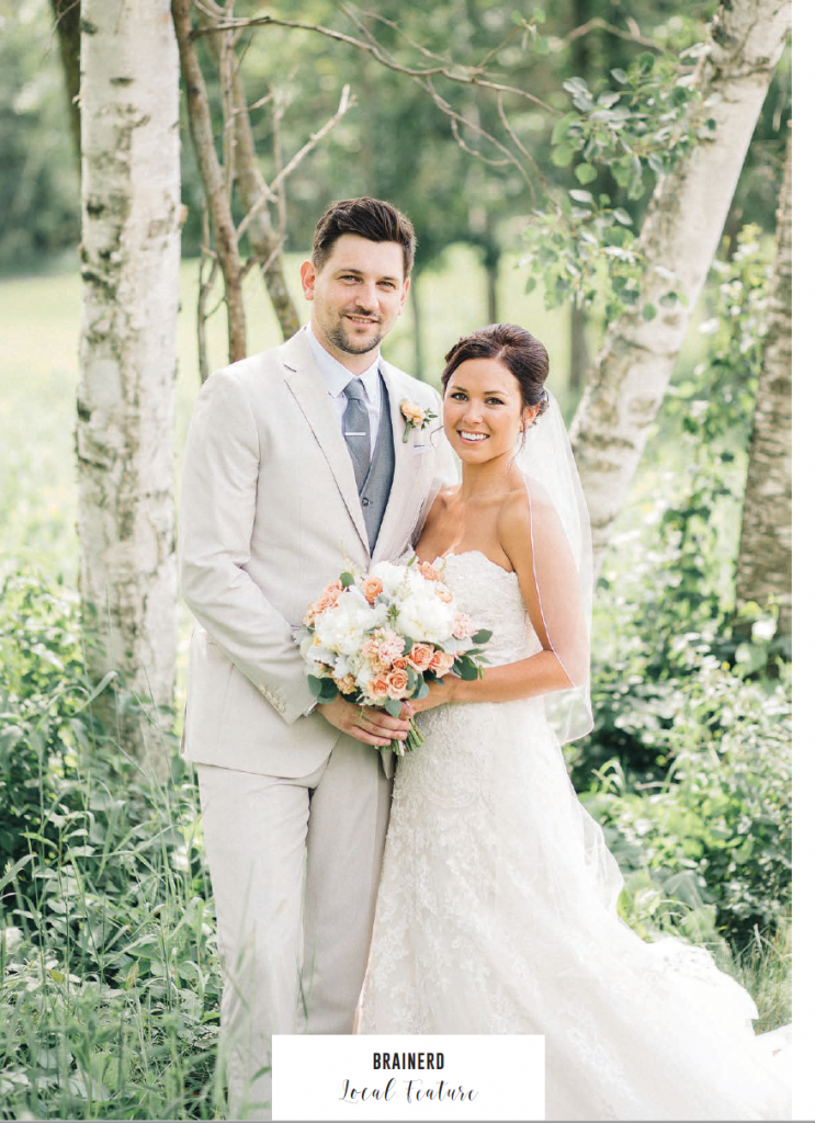 Tanya + Cole Wedding at Cragun's Legacy in Brainerd, MN - Page 1