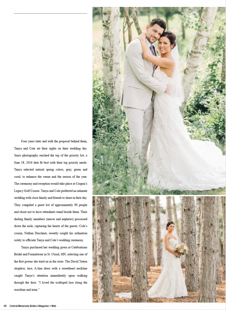 Tanya + Cole Wedding at Cragun's Legacy in Brainerd, MN - Page 3