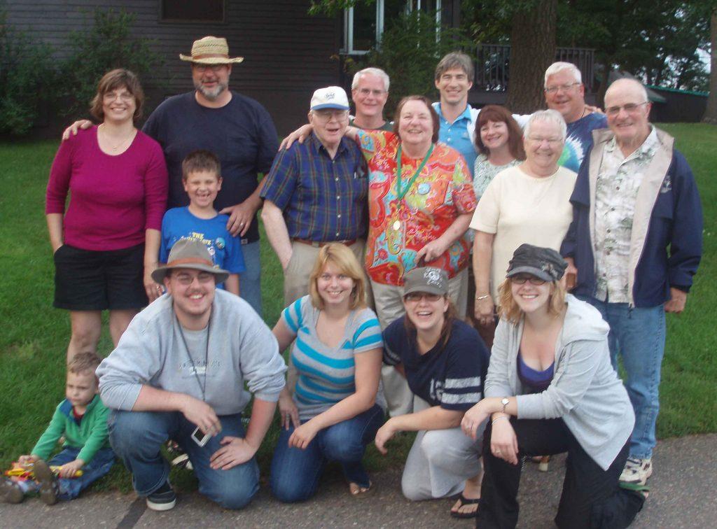 Celebrating my husband's parents' 50th anniversary at Cragun's Resort