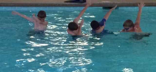 Swimming at Cragun's Resort