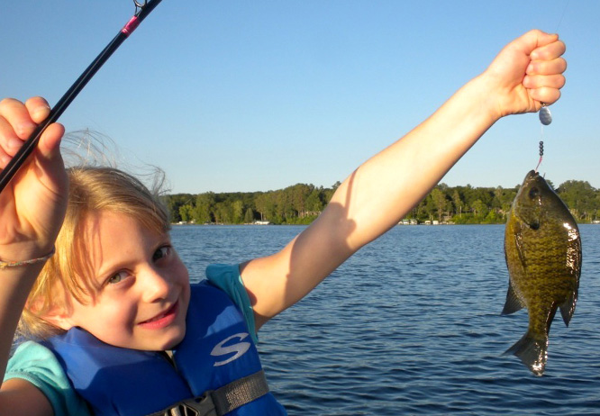 Top 10 things to do in Brainerd MN this summer is fishing on Gull Lake at Cragun's